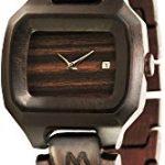 orologio matoa in legno