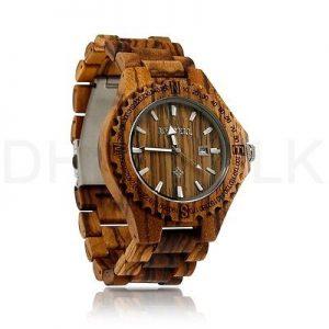 orologio bewell legno uomo