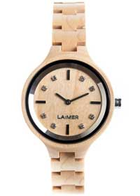 orologio legno Laimer