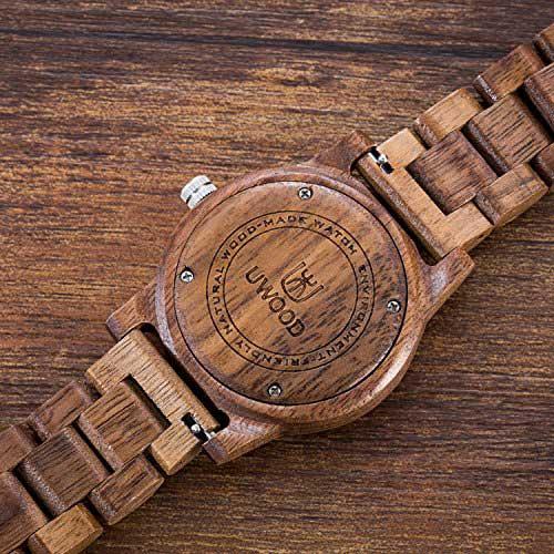 orologio in legno uwood