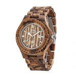 Amexi AZ0100 – orologio da uomo in legno di zebrano