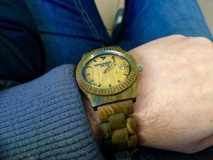 orologio legno woodstar milano