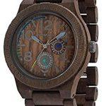 Orologio di legno WeWood Kardo color cioccolato