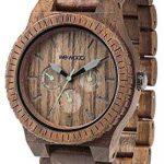 Orologio in legno Wewood con cassa grande – legno di noce naturale
